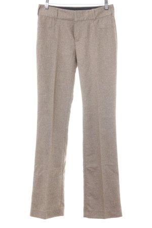 Strenesse Pantalon à pinces beige-orange clair moucheté style d'affaires
