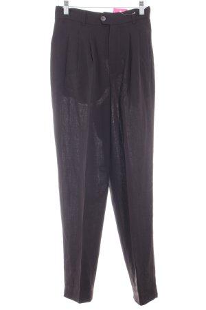 Strenesse Pantalon à pinces brun rouge style d'affaires