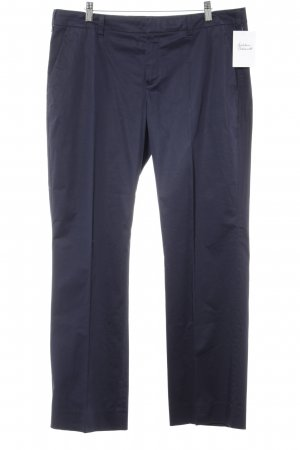 Strenesse Pleated Trousers dark blue business style