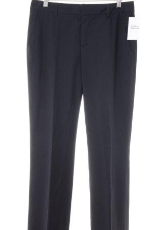 Strenesse Bundfaltenhose dunkelblau Business-Look