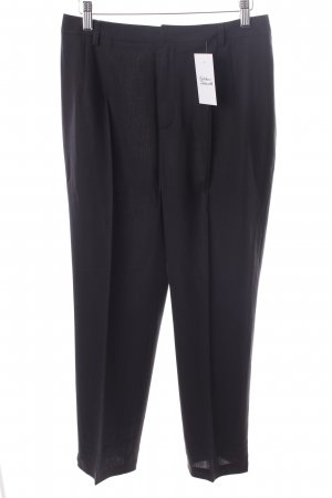 Strenesse Bundfaltenhose dunkelbraun Business-Look