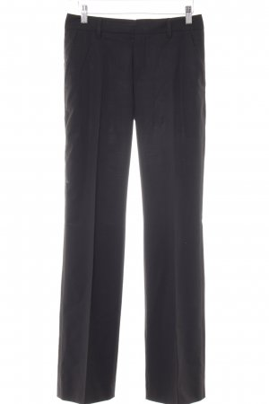 Strenesse Bundfaltenhose schwarz Business-Look
