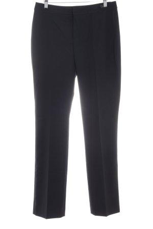Strenesse Pantalon à pinces noir style d'affaires