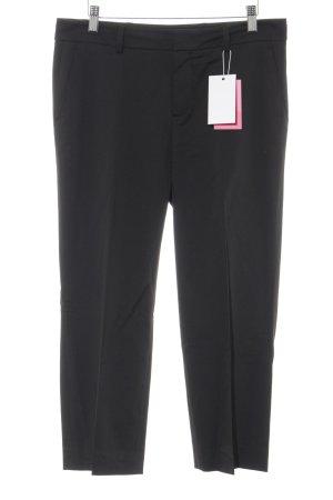 Strenesse Pantalon à pinces noir élégant