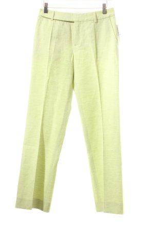 Strenesse Pantalon à pinces vert prairie moucheté style d'affaires