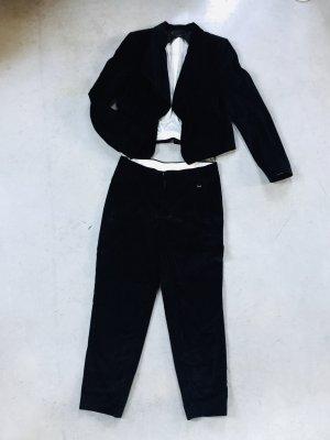 Strenesse Gabriele Strehle Traje de pantalón azul oscuro
