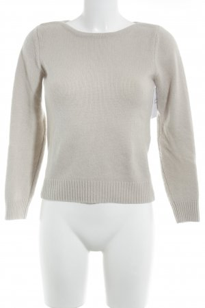 Strenesse Cashmerepullover creme Casual-Look