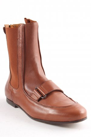 Strenesse Chelsea Boots cognac Street-Fashion-Look