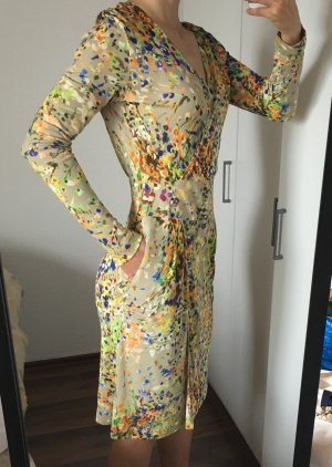 Strenesse Cocktail Etui Kleid elastische Viskose Gr. 36 bis 38