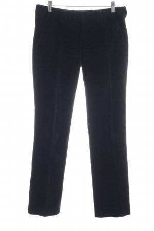 Strenesse Pantalón de pana negro look casual