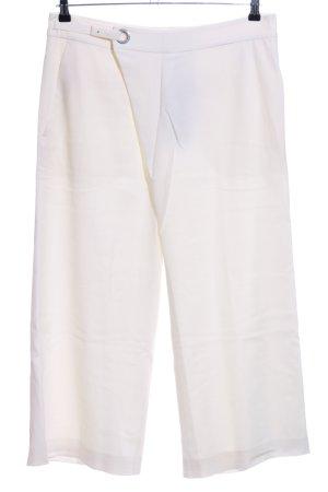 Strenesse Pantalone culotte bianco stile casual