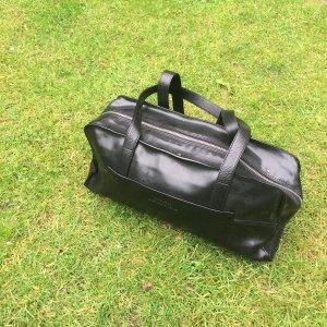 Strenesse ECHTLEDER Tasche in schwarz