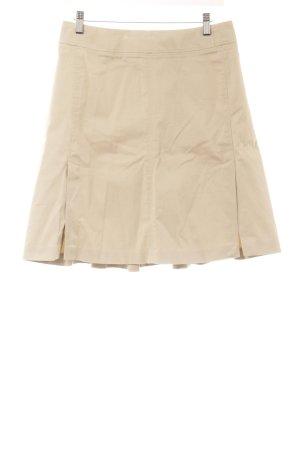 Strenesse Faltenrock beige Casual-Look