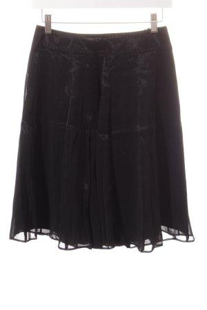 Strenesse Faltenrock schwarz Elegant