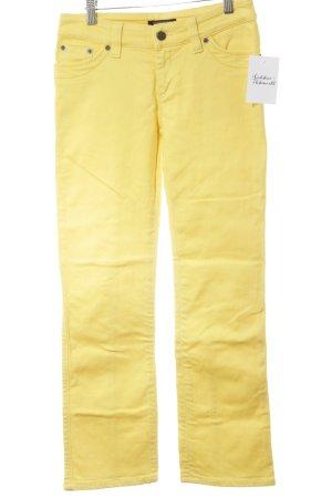 Strenesse Gabriele Strehle Jeans 7/8 jaune style décontracté