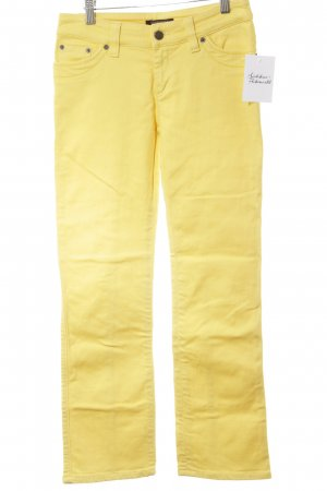 Strenesse Gabriele Strehle 7/8-jeans geel casual uitstraling