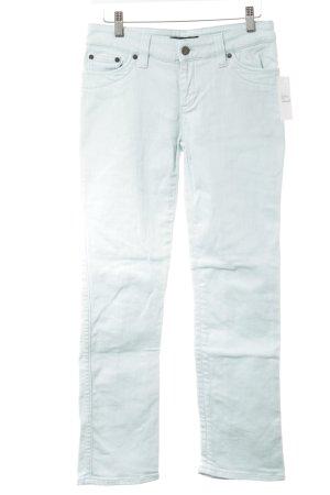 Strenesse Gabriele Strehle 7/8 Jeans hellblau-babyblau Casual-Look