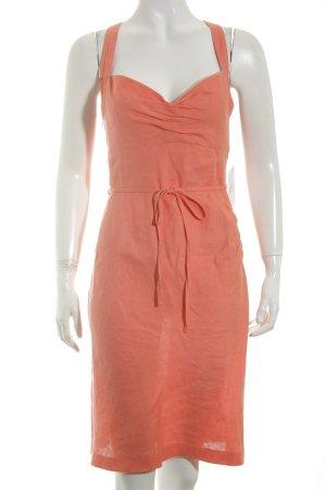 Strenesse Gabriele Strehle A-Linien Kleid lachs Beach-Look