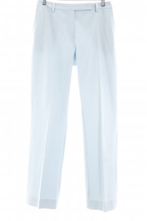 Strenesse Gabriele Strehle Pantalon de costume bleu azur élégant
