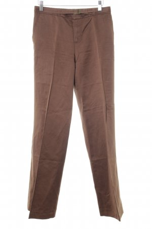 Strenesse Gabriele Strehle Pleated Trousers brown casual look