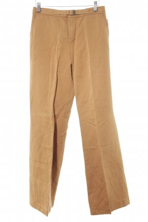 Strenesse Gabriele Strehle Pleated Trousers dark orange casual look