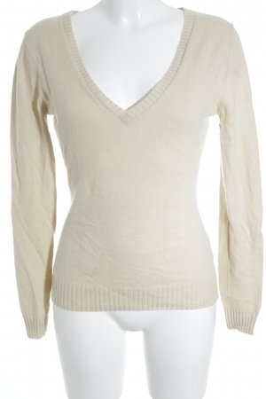 Strenesse Gabriele Strehle Cashmerepullover creme Casual-Look