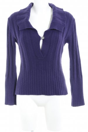 Strenesse Gabriele Strehle Cashmerepullover lila Casual-Look