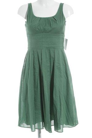Strenesse Gabriele Strehle Chiffonkleid grün 90ies-Stil