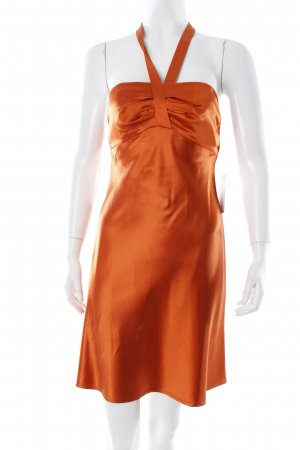 Strenesse Gabriele Strehle Cocktailkleid dunkelorange Party-Look