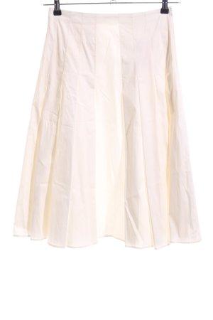 Strenesse Gabriele Strehle Jupe à plis blanc cassé style décontracté