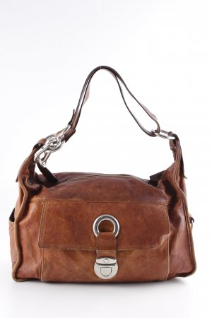 Strenesse Gabriele Strehle Carry Bag cognac-coloured casual look