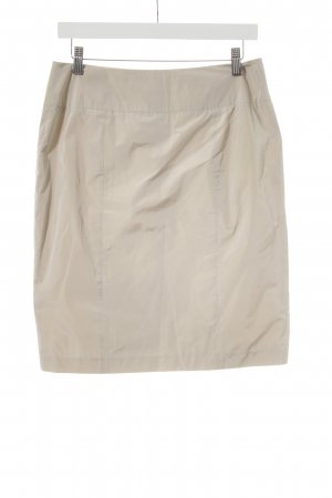 Strenesse Gabriele Strehle High Waist Skirt oatmeal casual look