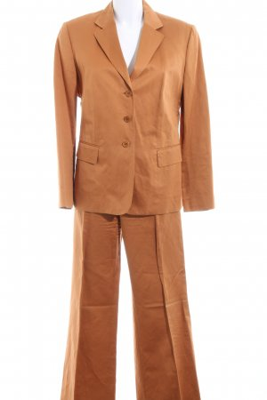Strenesse Gabriele Strehle Trouser Suit light orange business style