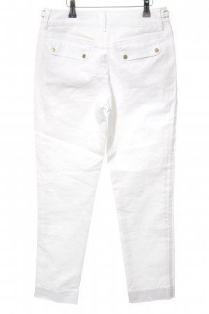 Strenesse Gabriele Strehle Jeans a carota bianco stile casual