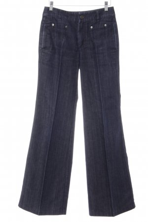 Strenesse Gabriele Strehle Carrot Jeans dark blue casual look