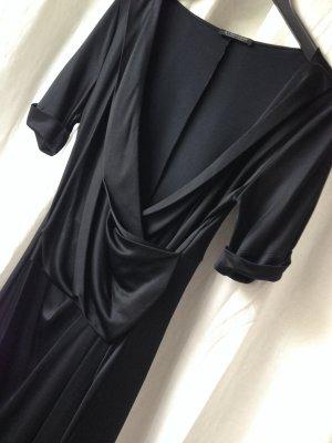 Strenesse Gabriele Strehle Kleid Abendkleid Cocktailkleid schwarz S 36 38 neu