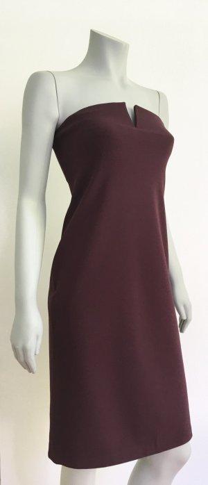 STRENESSE Gabriele Strehle Kleid Cocktailkleid Stretchkleid 40 pflaume purple