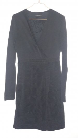 Strenesse Gabriele Strehle Kleid langarm mit Wolle Gr. 36