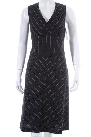 Strenesse Gabriele Strehle Kleid schwarz-weiß Eleganz-Look