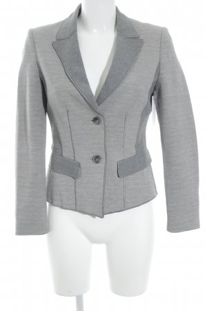 Strenesse Gabriele Strehle Short Blazer light grey-grey casual look