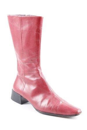 Strenesse Gabriele Strehle Botas bajas rojo estilo extravagante
