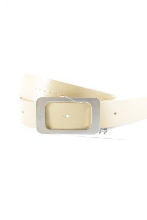 Strenesse Gabriele Strehle Ledergürtel nude-beige klassischer Stil