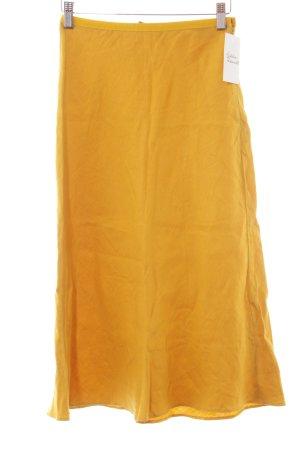 Strenesse Gabriele Strehle Gonna in lino giallo scuro stile casual