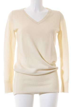 Strenesse Gabriele Strehle Longpullover wollweiß Casual-Look