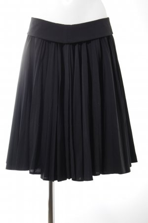 Strenesse Gabriele Strehle Pleated Skirt black elegant