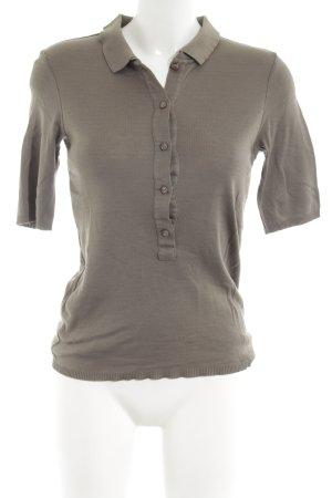 Strenesse Gabriele Strehle Polo-Shirt hellgrau Casual-Look