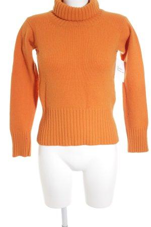 Strenesse Gabriele Strehle Rollkragenpullover orange Casual-Look