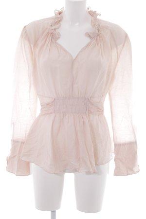 Strenesse Gabriele Strehle Rüschen-Bluse rosé Elegant