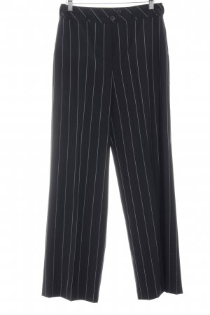 Strenesse Gabriele Strehle Flares black-white striped pattern business style