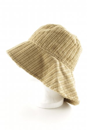 Strenesse Gabriele Strehle Floppy Hat olive green striped pattern